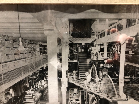 Inside of the General Store in the 1900s