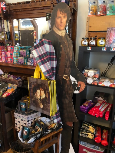 Outlander's Jamie Fraser (from my earlier Kitsap County article) Uhh, there might be an Outlander theme in my life...