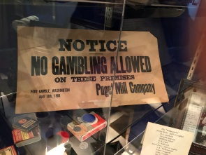 No gambling in Port Gamble. Hmmm.