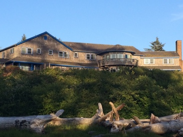 Kalaloch Lodge as it overlooks the Pacific Ocean