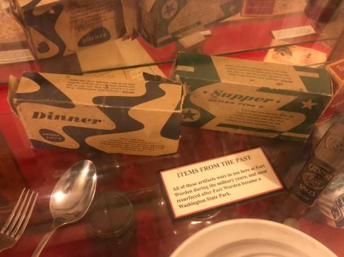 Delicious K-Rations (Coast Artillery Museum)