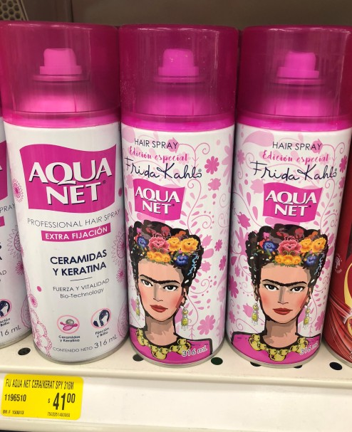 Best Aqua Net EVER!! Frida Kahlo strength!! I now own a can.