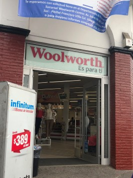 WOOLWORTH IS ALIVE!!!