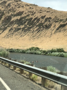 Floating down the Yakima River...