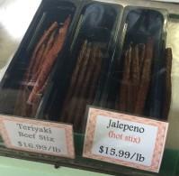 Delicious, delicious meats...