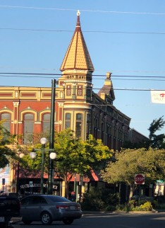 The historic Davidson Building in downtown Ellensburg