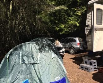 Luxury camping!