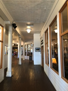 Inside the Northwestern Improvement Company Store building
