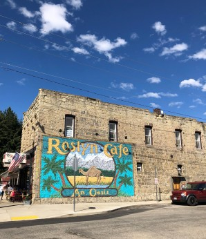 Classic Roslyn Cafe Mural