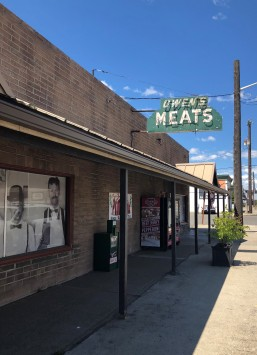 The classic Owen's Meats storefront