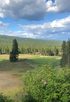 Beautiful view over the Suncadia golf course