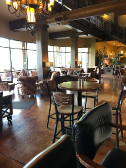 Lovely lounge areas at Swiftwater Cellars