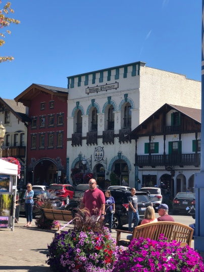 Shopping in beautiful downtown Leavenworth