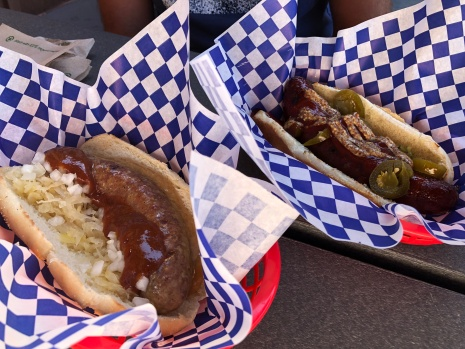 Currywurst and Kielbasa. Yes, please!