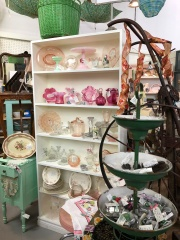 Precision Fruits has a very eclectic antiques selection