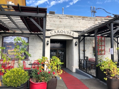 French dining at Carousel in downtown Yakima