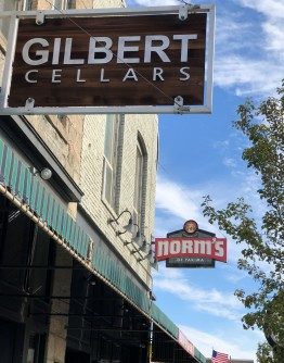 Gilbert Cellars in downtown Yakim