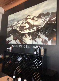 Lovely, modern and relaxing - The Gilbert Cellars tasting room