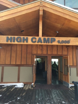 High Camp day lodge at White Pass Ski Area