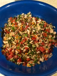 Farm fresh pico de gallo!!!