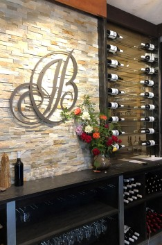 The tasting room at J. Bell is well-appointed and relaxing