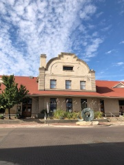 The old train station in downtown Yakima - now home to shops and restaurants