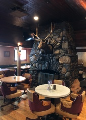 Inside the Fireside Bar & Grill