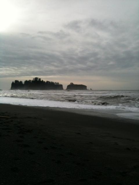 3rd Beach at dusk