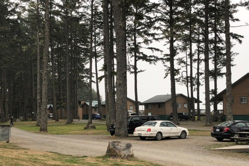 Cabins on 1st Beach in La Push