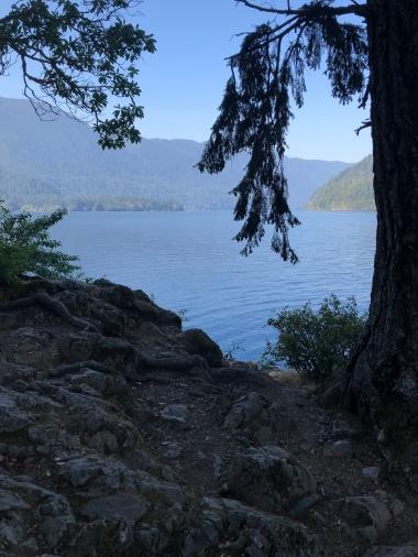 Peeking in on Lake Crescent