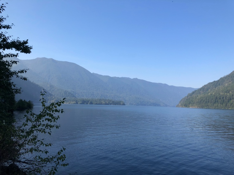 A day on Lake Crescent is always a good idea