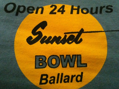Old Sunset Bowl t-shirt (courtesy of B. Skoczen)