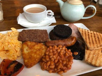 A proper fry-up at Brunch & Supper