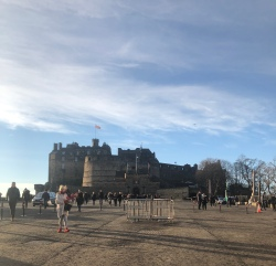 A beautiful sunny day to see the castle (Photo Credit: K. Spoor)