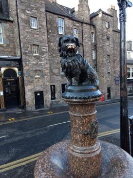 The famous Greyfriars Bobby (Photo credit: K. Spoor)