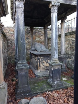 Greyfriars crypts are spooky! (Photo credit: K. Spoor)