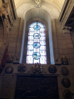 The Hall of Honour - Dedicated to fallen British soldiers from both World Wars and conflicts since.