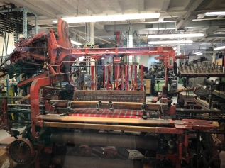 Loom at the Tartan Weaving Mill