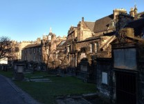 Spooky Greyfriars Kirkyard (Photo credit: K. Spoor)