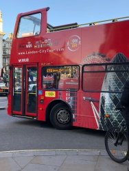 Classic London City Tour buses - Jump on and off!