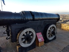 The giant canon, Mons Meg (Photo credit: K. Spoor)
