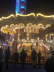 A beautiful carousel at the Christmas Market