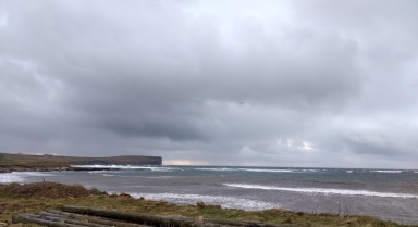 Looking at to sea from Birsay