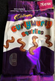 I hadn't tried the Squirlies before! Mmmmm...