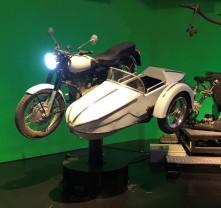 Hagrid's motorcycle!