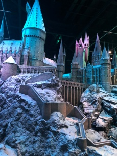 Built to scale Hogwarts grounds and castle