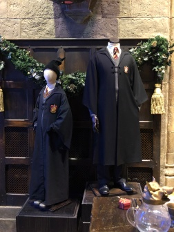 Gryffindor robes!