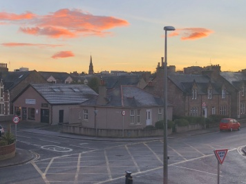 A beautiful, crisp morning in Inverness