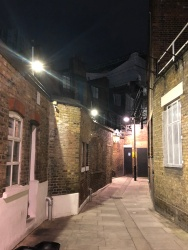 A step out of time in the back alleys of Kings Cross