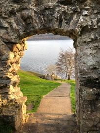 An Urquhart Castle picture frame...